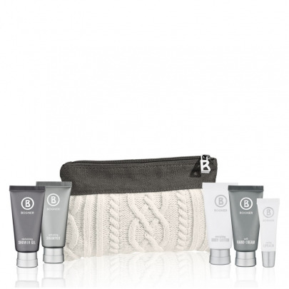 Bogner knitted pouch