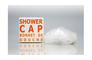 Orange Zest Showercap