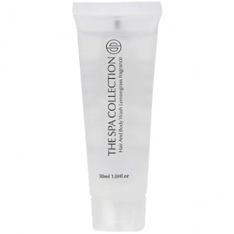 The Spa Collection Hair And Body Wash tube 30 ml