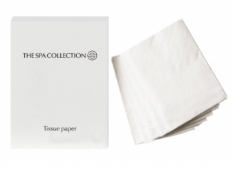 The Spa Collection tissues in kartonnen box